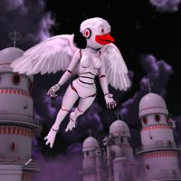 Beata Aves: Midnight Flight 3679 by Swawa3D