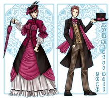 Aoh: Winter Ball Outfits by xxjust-a-nobodyxx