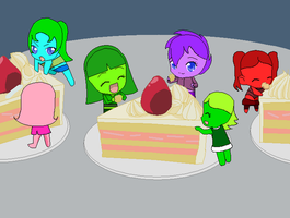 The Rabbit sisters and the giant cakes by november123456789066