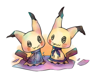 Mimikyu: Can I Really Be Popular? by destizeph