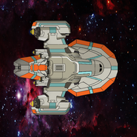 FTL Ship by TheSciFiArtisan