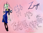 Zaige (redesign - main irken OC) by Miikage