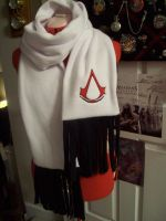 Classic Assassin's Creed Scarf by AnimeFreakKai