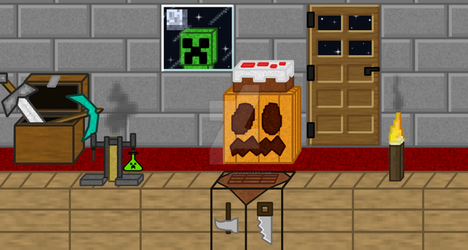 Creeper's Lab Twitch Cover by mediaklepto
