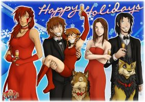 Happy Holidays from Tenaga Comics by Tenaga