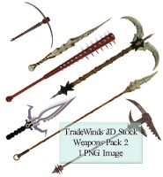 TW3D Weapons Pack 2 by TW3DSTOCK