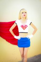 supergirl Animated Serie by Karen--Kasumi