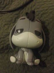 Eeyore Funko Pop by cartoonygothica