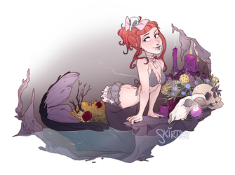 Mae the Macabre Mermaid by Skirtzzz