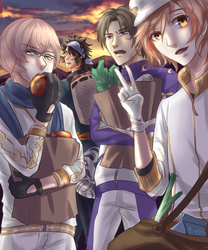 Tourabu - Shopping at sunset by Zerii-chan