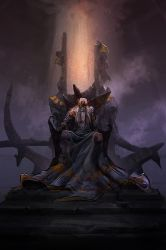 Griefshield throne chamber by eWKn