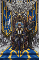 Portrait of the Emperor and the Prince by LTprojects