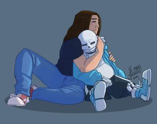 [C] Sans from Undertale Part 2... [Discussion] by SerenityAbyss