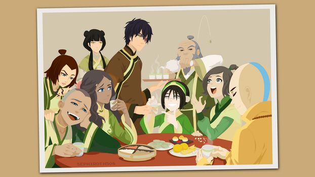 Avatar - The Last Airbender | Vector by Sephiroth508