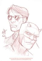 Daredevil by scarecrowhassan