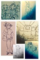 sketchdump8 by cayotze