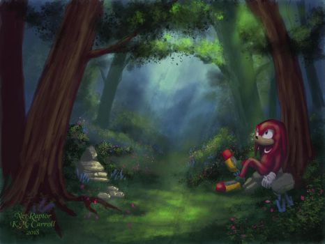 Sunlit Forest by NetRaptor