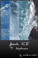 fresh ICE textures by rainbows-stock