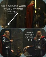 BROKEN Hammer, What NOW, Thor?? LOKI'D by Tokyo-Trends