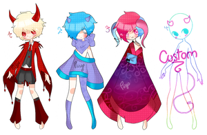 Adoptables. {03-05} Crystal Demons. [CLOSED!] by Piiyo-chan