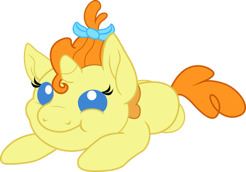 Baby Cake goes plop by TheShadowStone
