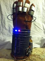 Mark IV Aetheric Shock Fist by TheCelticCowboy