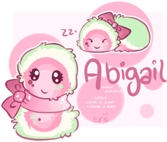 Abigail is a wittle fluff munster by TheyCallDaWindMariah