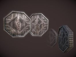 Dwemer Coin by InsanitySorrow
