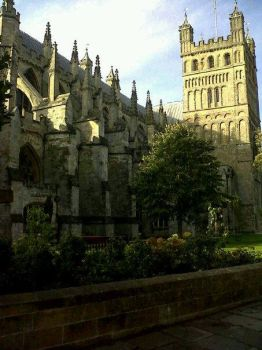 Exeter Cathedral by MakeAWishJustLikeMe