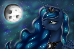 Princess of the night [redraw] by BreadPande