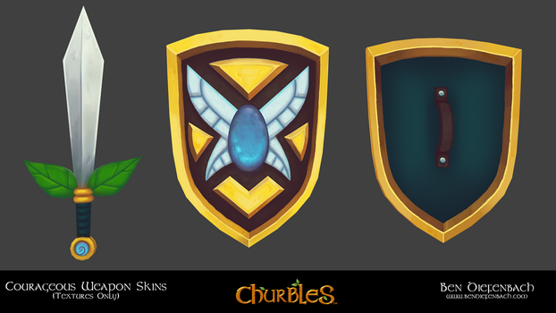 Churbles: Courageous Weapons by darkmag07