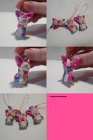 Sylveon Charms by ChibiSilverWings