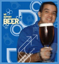 We Support Beer by luigibrasile
