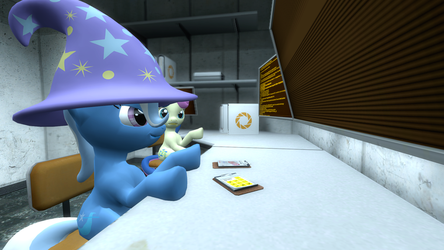 Second gmod try - Portal Ponies - Full Color by Marcsello