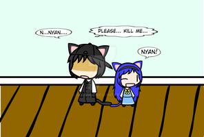 (walfas) Nyan Family by Godeung