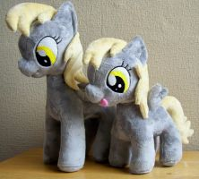 Derpy and filly Derpy by Pinkamoone