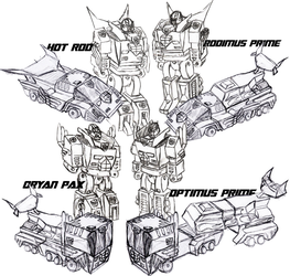 Autobot Leadership Multichanger-All Modes by magigrapix