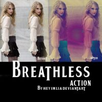 Breathless Action by HeyImLia
