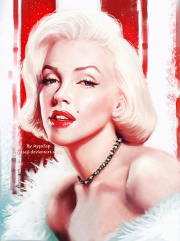 Marilyn Monroe by AyyaSAP