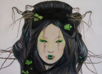 Envy 7 Deadly Sins by TanjaLouiseArtist