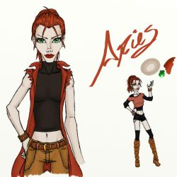 Aries Concept WIP by Irisa007