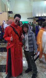 Me and Vash The Stampeed ^^ by XxGothic-AngelxX