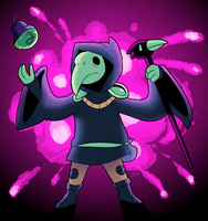 Plague Knight by jennyjams