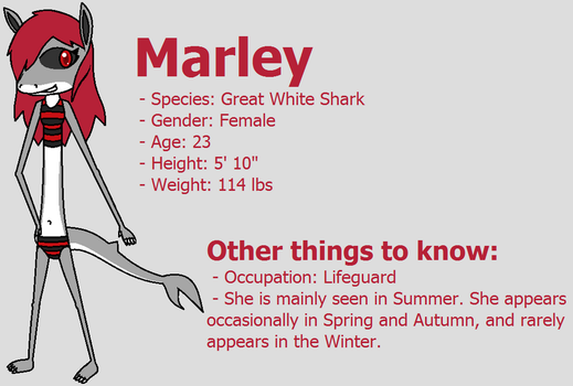 Marley the Great White Shark by Ambipucca
