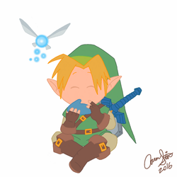 Link and Navi by AaronStites
