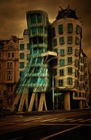 City Buildings by oldhippieart