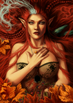 Red Autumn by jodeee