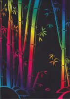 Through the Bamboo by Art-in-Murder