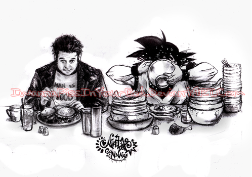 Men Vs Food by IwannaPissInYourBed