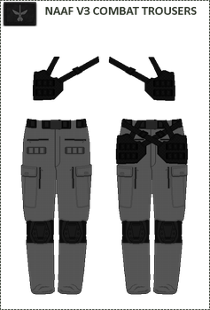 Naaf V3 Combat Trousers by Milosh--Andrich